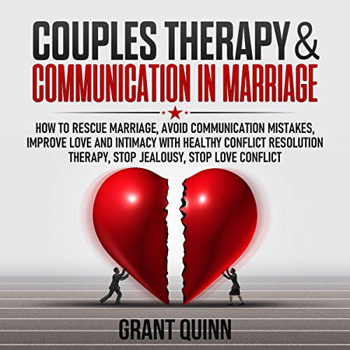 Couples Therapy & Communication in Marriage audiobook cover art