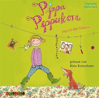 Pippa Pepperkorn neu in der Klasse     Pippa Pepperkorn 1              Autor:                                                                                                                                 Charlotte Habersack                               Sprecher:                                                                                                                                 Birte Kretschmer                      Spieldauer: 1 Std. und 19 Min.     17 Bewertungen     Gesamt 4,8