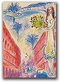 YUMKNOW Leinwand Bilder Werke des Malers Marc Chagall