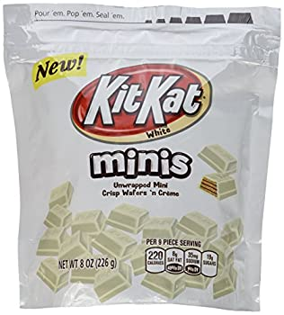 Hershey s Kit Kat Mini s White Chocolate Covered Wafer Candies 8oz Bag  Pack of 3