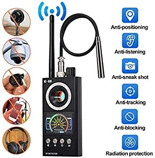 Vecoacopd Bug Detector, Anti Spy Hidden Camera Finder Anti Candid Camera GPS Tracker GSM Tracking Device