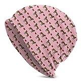 Custom made Great Dane Brindle Love Hearts Dog Beanie Hat Kids Super Soft 100% Cap Knit Hats Bandana
