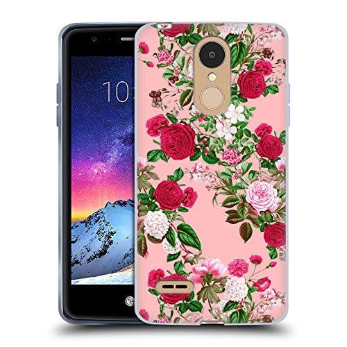 Head Case Designs Officially Licensed by Riza Peker Romance Florals Soft Gel Case Compatible with LG K8 / K9 (2018)