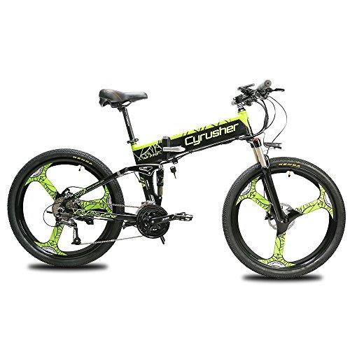 Extrbici bicicleta eléctrica plegable montaña adultos Homb