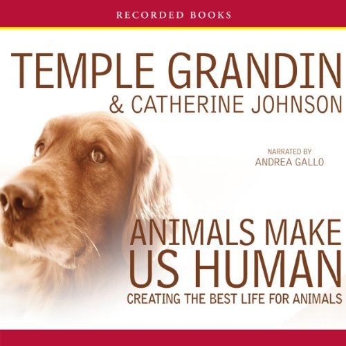 Animals Make Us Human audiobook cover art