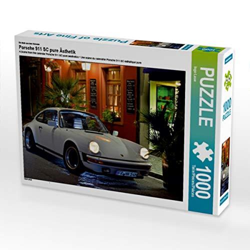 CALVENDO Puzzle Porsche 911 SC Pure Ästhetik 1000 Teile Lege-Größe 64 x 48 cm Foto-Puzzle Bild von Ingo Laue