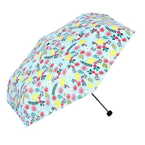 Good feeling zm Automatische Faltbare Tragbare Geschäftsreisen Regenschirm, Winddicht Und Gewitter, Blau Sonnenschirm Vinyl Sonnencreme