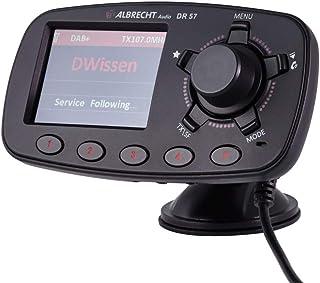 Albrecht 27257 Adapter voor het Upgraden van Auto-Radio's, Zwart