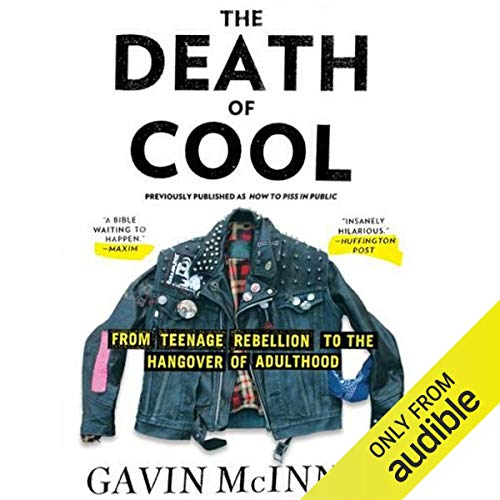 The Death of Cool audiobook cover art