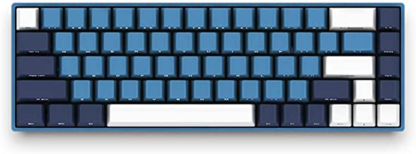 EPOMAKER AKKO 3068 68-Key Cherry MX Mini Mechanical Keyboard for Windows PC Gamers (Cherry Blue Switch, SP Ocean Star)