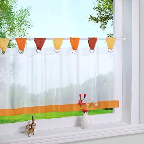 Yujiao Mao - Tenda a pacchetto in filo di ferro, 45 x 120 cm, colore: Arancione