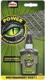 Pattex Power Colle Multi-usages, colle transparente utilisable dans toutes les conditions, colle forte tous matériaux même flexibles,colle universelle puissante de 50 g