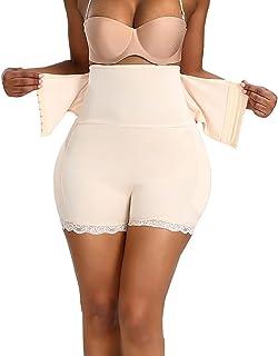 النساء الوركز و رفع المؤخرة - ملابس داخلية للنساء البطن التحكم السراويل زائد حجم كبير عالية الخصر اللباس الداخلي منتصف الف...