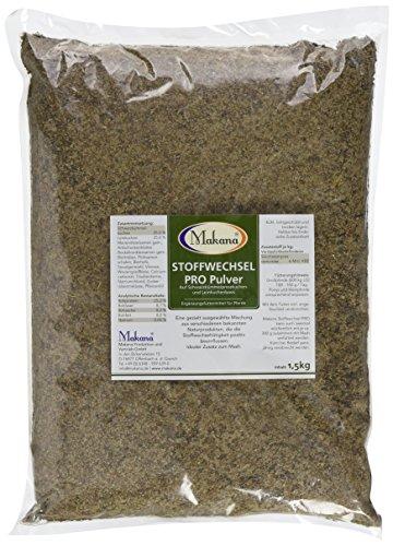 Makana Stoffwechsel PRO auf Schwarzkümmel- & Leinkuchenbasis, Pulver, 2 x 1,5 kg Beutel (2 x 1,5 kg)