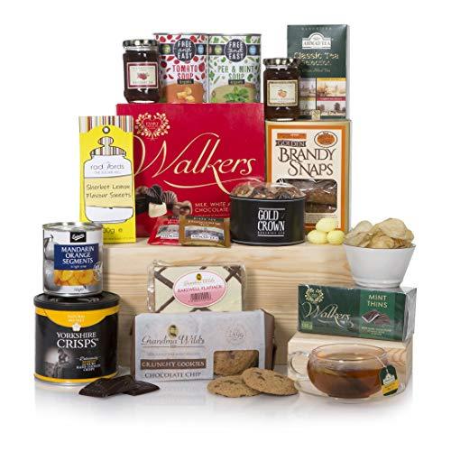 Der Senioren-Geschenkkorb – Das klassische Geschenk für ältere Freunde und Familienmitglieder – Geschenkkorb und Geschenke zum Essen