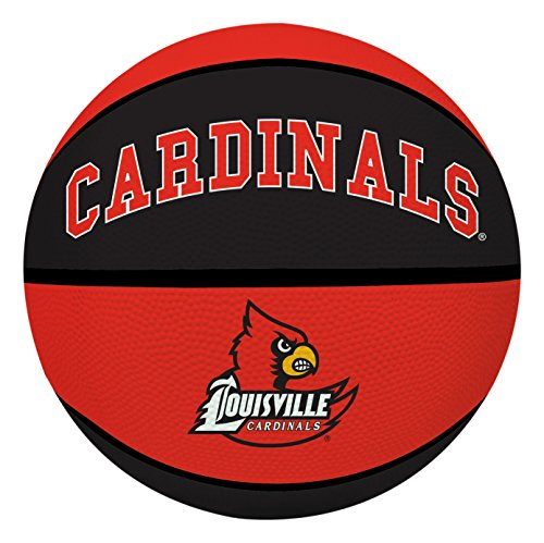 NCAA Louisville Cardinals Crossover Full Size Basketball by Rawlings