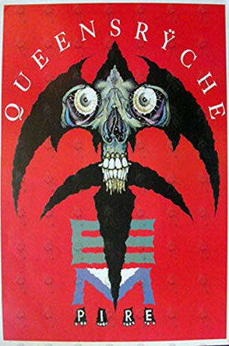 QUEENSRYCHE - 'Empire' Album Promo Poster