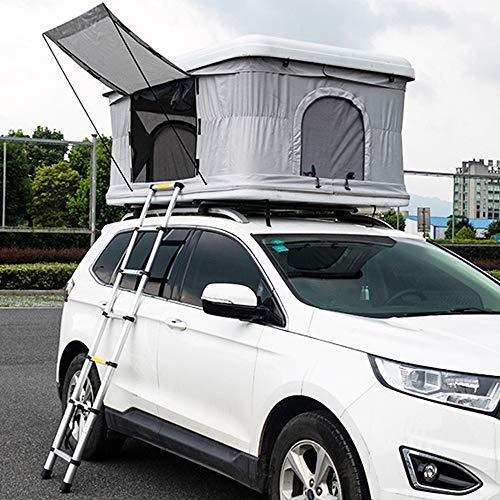 XPHW Dachzelt ABS-Auto-Universaldach-Haus, Verwendbar Für 2-3 Leute-hydraulisches Automatisches Autodach-Zelt