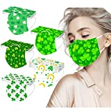 50 Pack ST Saint Patricks Day Disposable Face...