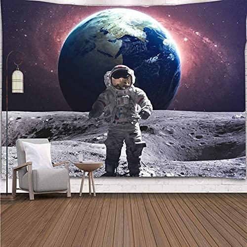 Alittle Astronaute Alittle Pour Hommes , Lop Walk Alittle Starry Galaxy Big Terre Alittle Suspension Pour Dortoir 150x130cm.