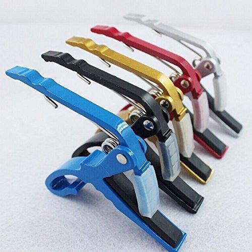 Clavija de afinación para guitarra acústica/eléctrica, ukelele de color al azar
