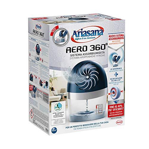 Desiccante Ariasana Aero 360 kit con 2 Ricariche da 450 grammi