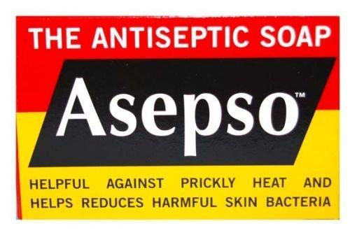 Asepso Zeep 90g De Antiseptische Zeep X2