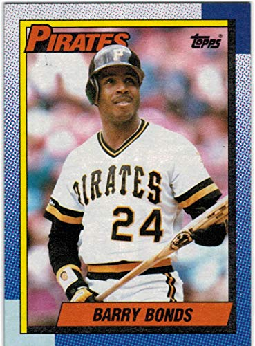 1990 Topps with Traded Pittsburgh Pirates Team Set with Barry Bonds & Bobby Bonilla - 33 MLB Cards