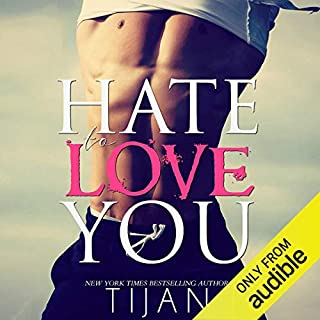 Hate to Love You audiobook cover art