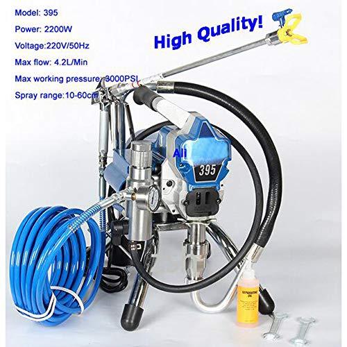 Neue Airless-Hochdruck-Spritzmaschine Airless-Spritzpistole elektrische Airless-Farbspritzmaschine 390 395 Lackiermaschine