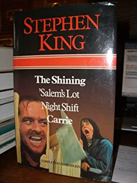 "The Shining 'Salem""s Lot Night Shift Carrie. Complete & Unabridged."