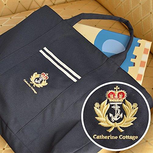 CatherineCottage(キャサリンコテージ)オリジナル刺繍入り絵本バッグフリーアリス刺繍