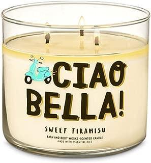 Bath & Body Works Scented 3-Wick Candle CIAO Bella! Sweet Tiramisu