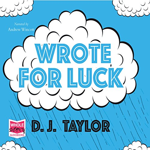 Wrote for Luck audiobook cover art