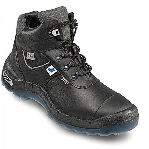 OTTER 93259 Sicherheitsstiefel ESD Sicherheitsschuhe Arbeitsschuhe Hoch Stiefel, Größe:36
