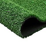 SUNERLORY 1 rollo de alfombra de césped artificial, alfombra de césped sintético para césped y césped sintético, decoración de boda, entrenamiento para perros (tipo B, tamaño: grosor: 1,5 cm)