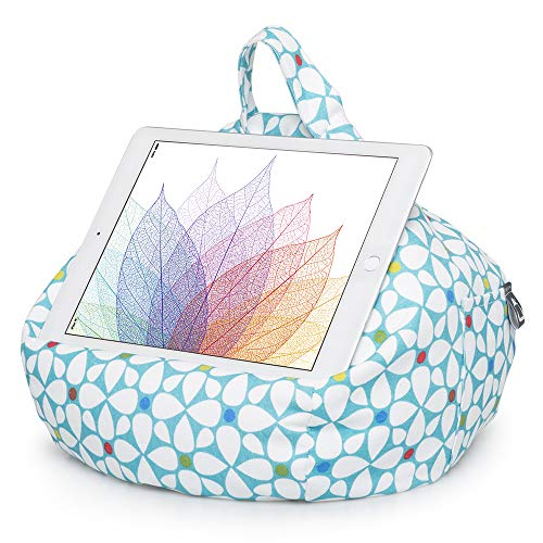 iBeani iPad and Tablet Stand/Bean Bag Cushion Holder For All Devices - Geometric IB-GEOSP