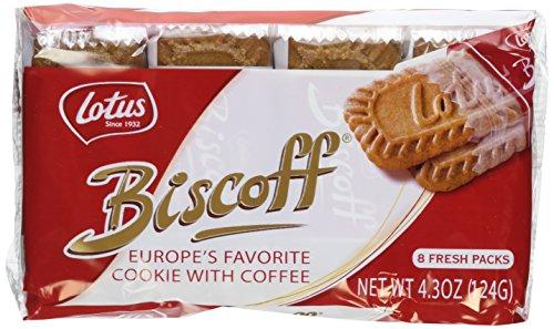 Biscoff Cookies - 4.3 Ounce (Pack of 2) (16 Individual Snack Packs)
