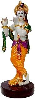 Kidoyzz Polyresine Lord Krishna Idol Krishan with Statue God Makhan Chor/Balgopal Handicraft Spiritual Showpiece Figurine...