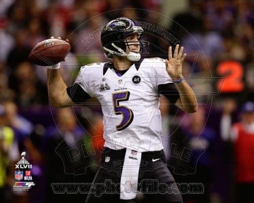 Joe Flacco AAPP032 Foto Baltimore Ravens, 20,3 x 25,4 cm