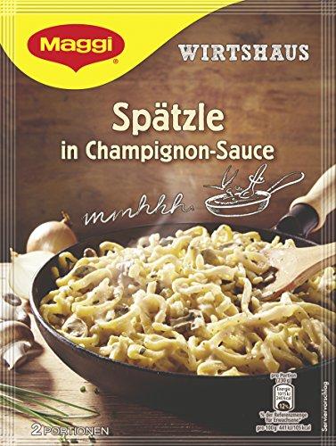 Maggi Wirtshaus Spätzle Champignons, 11er Pack (11 x 123 g)