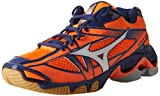Mizuno Wave Bolt 6, Zapatillas de Running Hombre, Multicolor (Orange Clownwhite), 44.5 EU