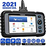 OBD2 Scanner, TOPDON ArtiDiag600 Diagnostic Tool for Engine/SRS/ABS/Transmission, Oil/EPB/SAS/TPMS Reset Throttle Matching Scan Tool, AutoVIN, Free Wi-Fi Update, Android 7.0 2021 Code Reader