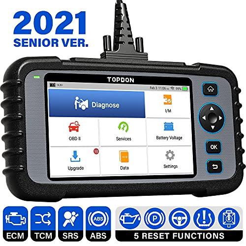 TOPDON ArtiDiag600 OBD2 Scanner, 4 System Diagnostic Tool for Engine SRS...