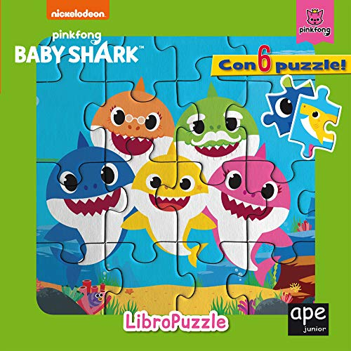 Libro puzzle. Baby Shark. Ediz. a colori