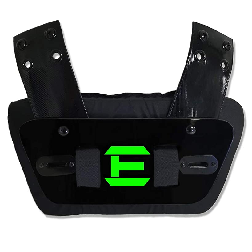 EliteTek Sports - Universal FIT for All Shoulder Pads - Football - Back Plate - Sternum Plate - Youth & Adult Sizes - Adjustable & Removable