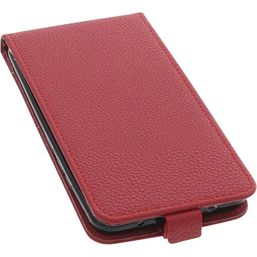 foto-kontor Tasche für TP-Link Neffos X1 Max Smartphone Flipstyle Schutz Hülle rot