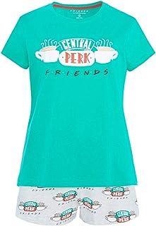 13c4469ff -:Disney:- Camiseta y Pantalones Cortos de Pijama para Mujer, de la