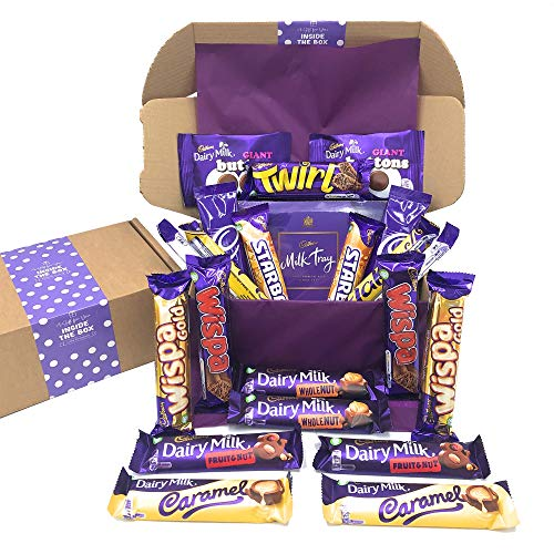 Inside the Box Gifts Cadbury Gift Box Hamper Chocolate Selection Sharing Box for Chocolate lovers