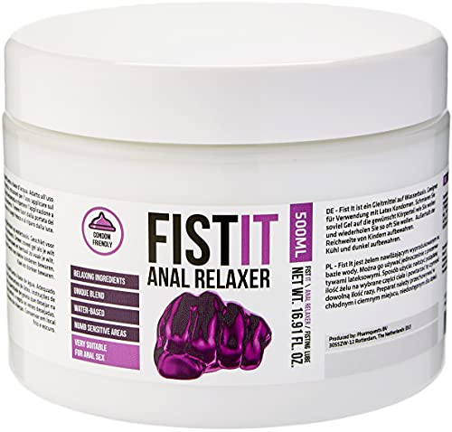 Fist It PHA101 Lubrifiant Fisting Anal Relaxer 500 ml